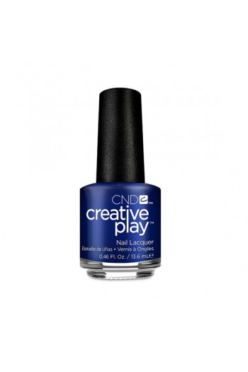 CND Creative Play Nail Lacquer - Stylish Sapphire - 0.46oz / 13.6ml
