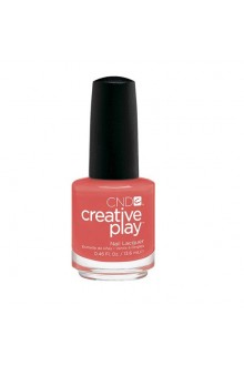 CND Creative Play Nail Lacquer - Tangerine Rush - 0.46oz / 13.6ml