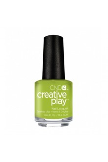 CND Creative Play Nail Lacquer - Toe the Lime - 0.46oz / 13.6ml