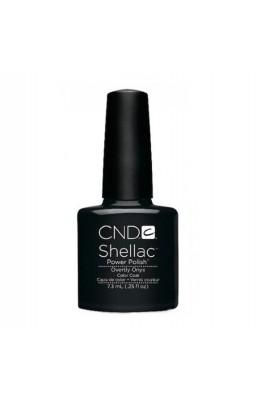 CND Shellac Power Polish - Overly Onyx - 0.25 oz / 7.3 ml