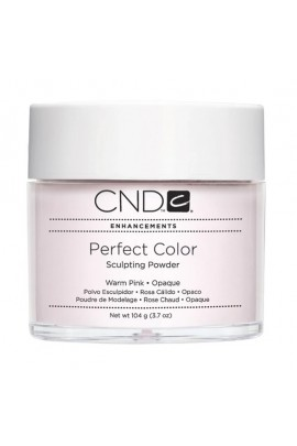 CND Perfect Color Powder - Warm Pink - Opaque - 3.7oz / 104g