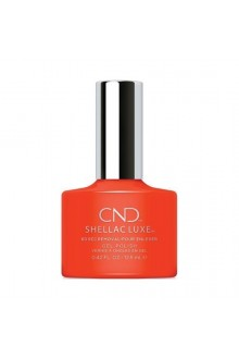 CND Shellac Luxe - Electric Orange - 12.5 ml / 0.42 oz