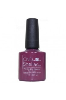 CND Shellac Power Polish - Married to the Mauve - 0.25oz / 7.3ml
