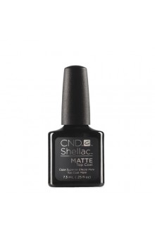 CND Shellac Matte Top Coat - 0.25oz / 7.3ml