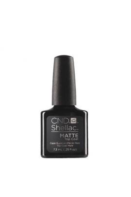 CND Shellac Matte Top Coat - 0.25oz / 7.3ml