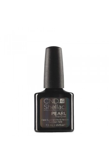 CND Shellac Pearl Top Coat - 0.25oz / 7.3ml