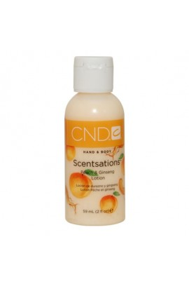 CND Scentsations - Peach & Ginseng Lotion - 2oz / 59ml