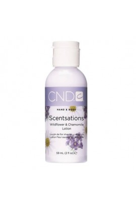 CND Scentsations - Wildflower & Chamomile Lotion - 2oz / 59ml