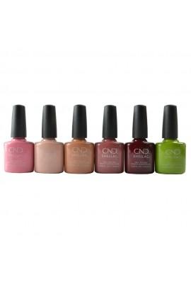 CND Shellac - Autumn Addict Collection Fall 2020 - All 6 Colors - 0.25oz / 7.3ml Each