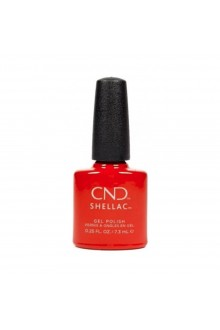 CND Shellac - Cocktail Couture Collection Holiday 2020 - Devil Red - 0.25oz / 7.3ml