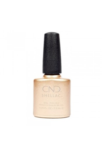 CND Shellac - Cocktail Couture Collection Holiday 2020 - Get That Gold - 0.25oz / 7.3ml