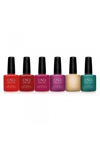 CND Shellac - Cocktail Couture Collection Holiday 2020 - All 6 Colors - 0.25oz / 7.3ml Each