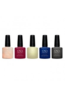 CND Shellac - Crystal Alchemy Winter 2019 Collection - All 5 Colors - 0.25oz / 7.3ml Each