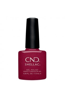 CND Shellac - Crystal Alchemy Winter 2019 Collection - Rebellious Ruby - 0.25oz / 7.3ml