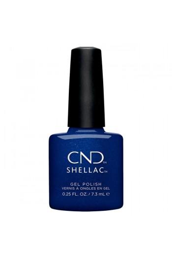 CND Shellac - Crystal Alchemy Winter 2019 Collection - Sassy Sapphire - 0.25oz / 7.3ml