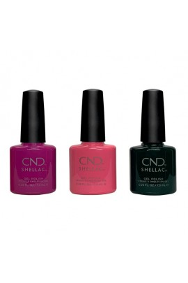 CND Shellac - Prismatic Collection Summer 2019 - All 3 Colors - 7.3ml / 0.25oz each