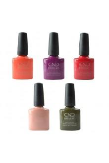 CND Shellac - Treasured Moments Fall 2019 Collection - All 5 Colors - 0.25oz / 7.3ml Each