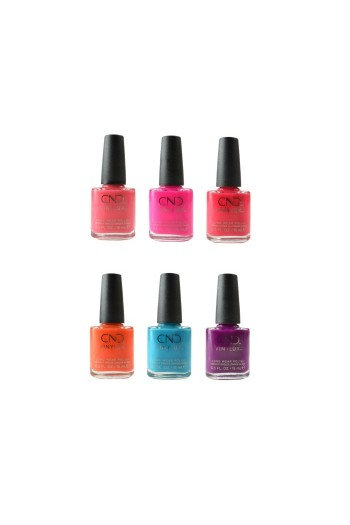 CND Vinylux - Summer City Chic Collection - All 6 Colors - 0.5oz / 15ml Each