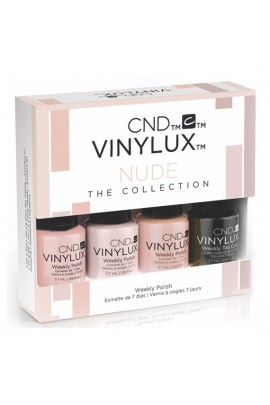 CND Vinylux Weekly Polish - Nude The Collection Mini 4pk - 3.7 mL / 0.125 oz