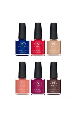 CND Vinylux - Wild Earth 2018 Collection - All 6 Colors - 15 mL / 0.5 oz each