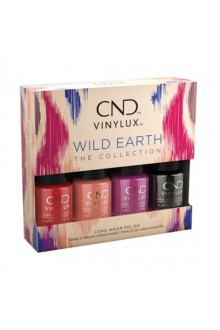 CND Vinylux - Wild Earth Collection Mini 4pk - 3.7 ml / 0.125 oz