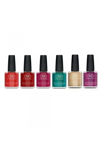 CND Vinylux - Cocktail Couture Collection Holiday 2020 - All 6 Colors - 0.5oz / 15ml Each