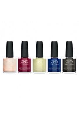 CND Vinylux - Crystal Alchemy Winter 2019 Collection - All 5 Colors - 0.5oz / 15ml Each