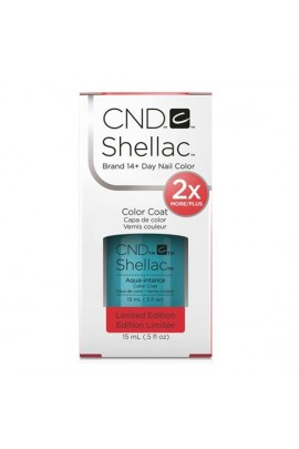 CND Shellac - Limited Edition! - Aqua-Intance - 0.5oz / 15ml