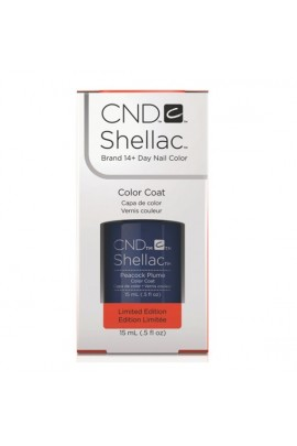 CND Shellac - Limited Edition! - Peacock Plume - 0.5oz / 15ml