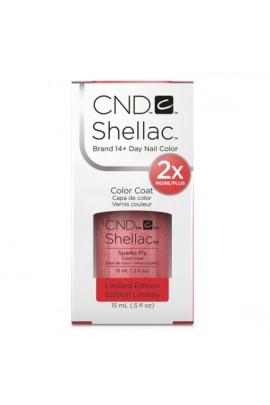 CND Shellac - Limited Edition! - Sparks Fly - 0.5oz / 15ml