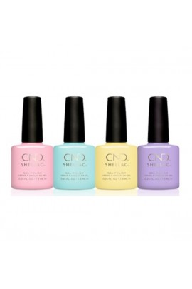 CND Shellac - Chic Shock Spring 2018 Collection - 4 Colors - 0.25oz / 7.3ml each