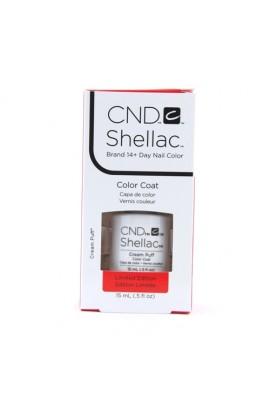 CND Shellac - Limited Edition! - Cream Puff - 0.5oz / 15ml