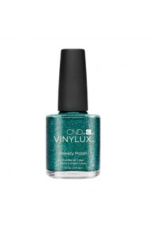 CND Vinylux Weekly Polish - Emerald Lights - 0.5oz / 15ml