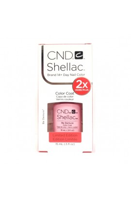 CND Shellac - Limited Edition! - Be Demure  - 0.5oz / 15ml