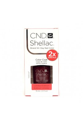 CND Shellac - Limited Edition! - Oxblood - 0.5oz / 15ml