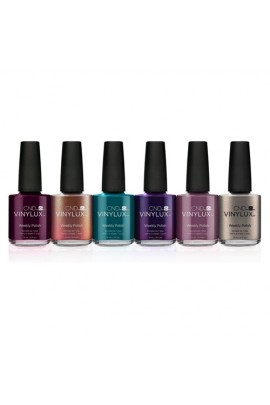 CND Vinylux Weekly Polish - Night Spell Fall 2017 Collection - 6 Colors - 0.5oz / 15ml Each