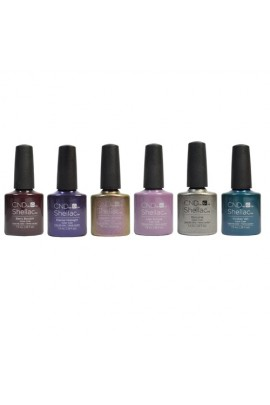 CND Shellac - Night Spell Fall 2017 Collection - All 6 Colors - 0.25oz / 7.3ml Each