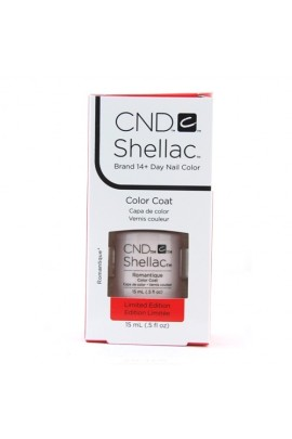 CND Shellac - Limited Edition! - Romantique - 0.5oz / 15ml