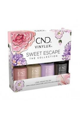 CND Vinylux - Sweet Escape 2019 Collection - Mini 4pk - 3.7 mL / 0.125 oz