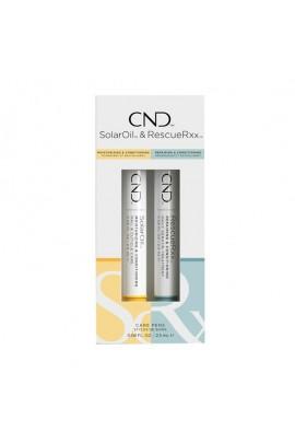 CND SolarOil & RescueRxx - Care Pens Duo - 0.08oz / 2.5ml Each