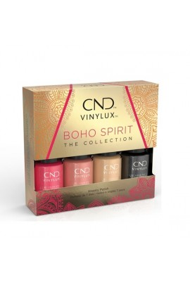 CND Vinylux - Boho Spirit Collection Mini 4pk - 3.7 ml / 0.125 oz