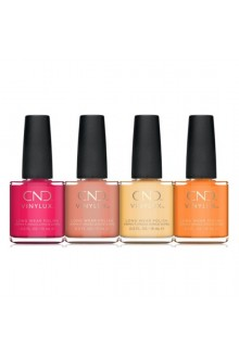CND Vinylux - Boho Spirit Collection - All 4 Colors - 15 ml / 0.5 oz Each