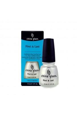 China Glaze Treatment - First and Last - 0.5oz / 14ml