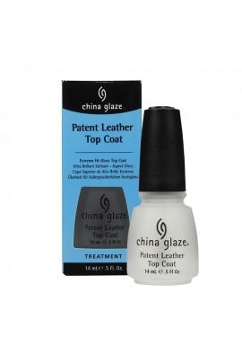 China Glaze Treatment - Patent Leather Top Coat - 0.5oz / 14ml