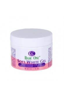 Christrio - BASIC ONE Soft White Gel - 1oz / 28g
