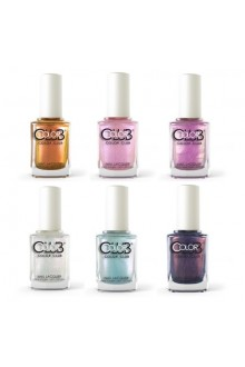 Color Club Lacquer - Aura Energy Collection - All 6 Colors - 15 mL / 0.5 oz Each