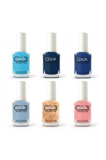 Color Club Lacquer - Calm Before The Storm Collection  - All 6 Colors - 15 mL / 0.5 oz Each