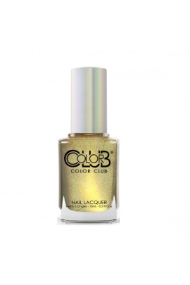 Color Club Nail Lacquer - Halo Chrome Collection - Good as Gold - 15ml / 0.5oz