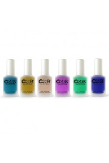 Color Club Lacquer - Matte-ified Metallics Collection - All 6 Colors - 15 mL / 0.5 oz Each