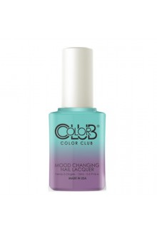 Color Club Mood Changing Nail Lacquer - Serene Green - 15 mL / 0.5 fl oz